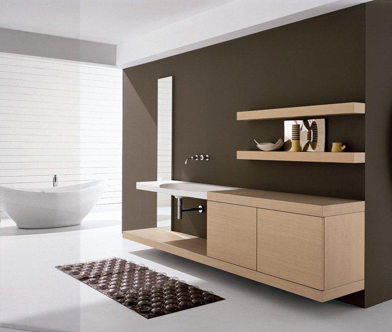 Мебель для ванной комнаты: готовая или на заказ?