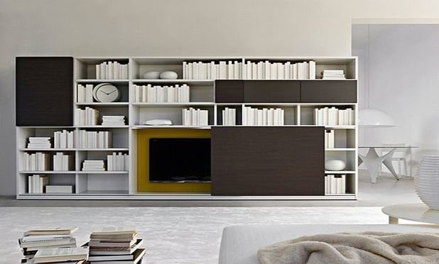 Различная мебель в гостиную: стенка для гостиной со шкафом для одежды