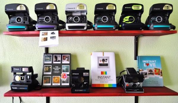 Выставка фотографий Polaroid
