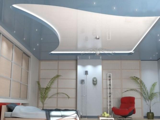 Натяжные потолки и их достоинства