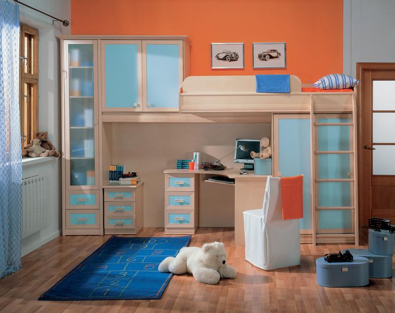 Тамбурат для детской комнаты