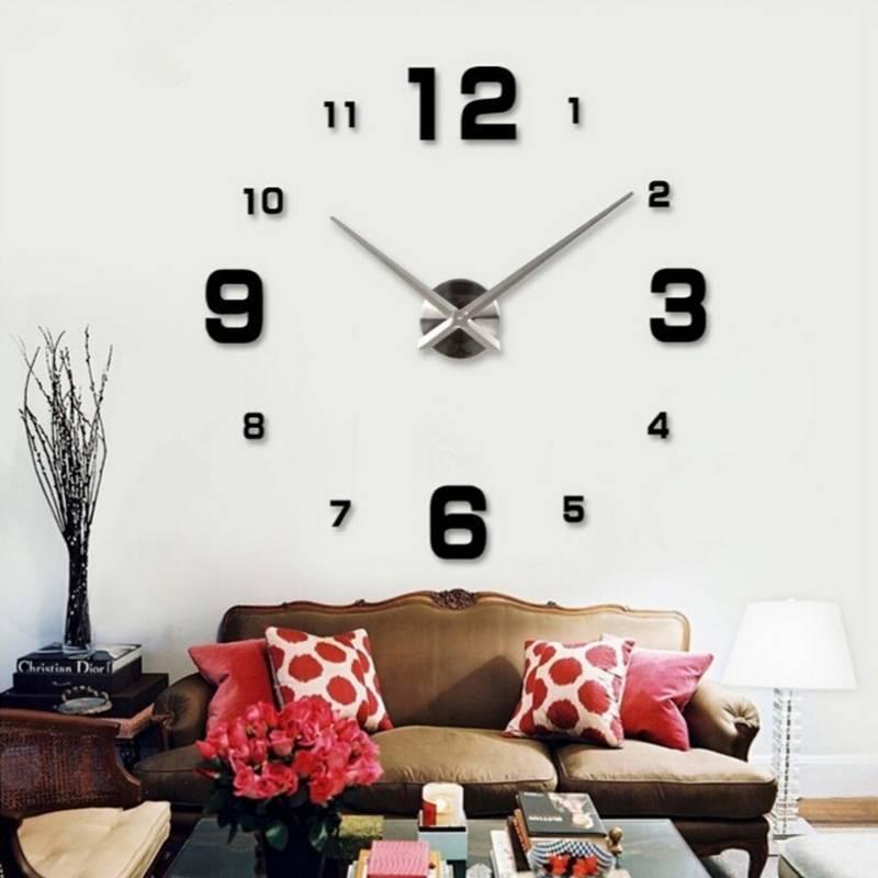 Настенные часы хай-тек