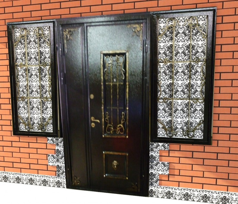 Металлические двери для дома и не только
