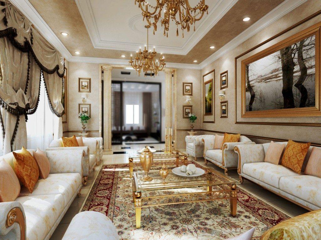 Особенности классического стиля в гостиной