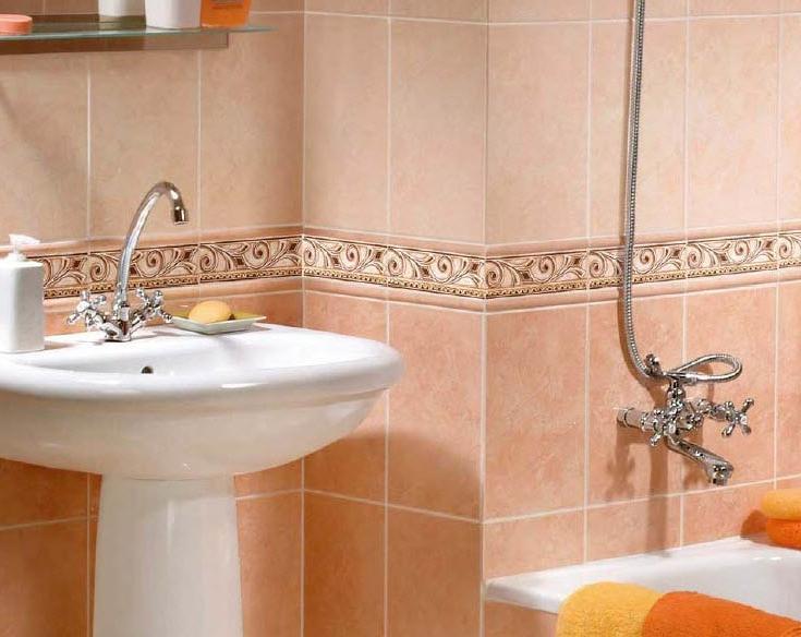 Выбор цвета плитки для ванной комнаты