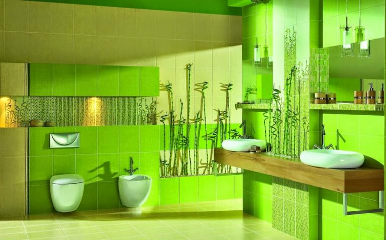 Плитка для ванной комнаты: какой выбрать цвет