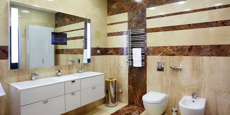 Выбираем материал облицовки стен в ванной комнате