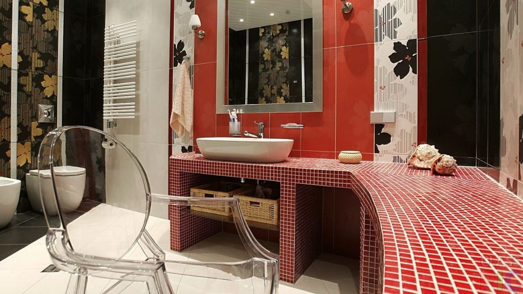 Дизайн интерьера с использованием плитки