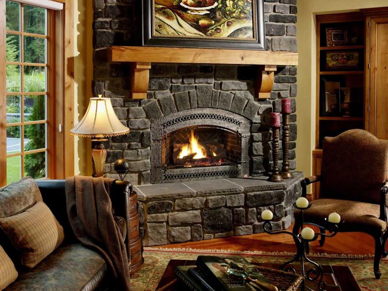 Красивые камины в интерьере квартиры