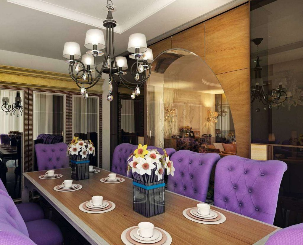 Уникальный интерьер: используем фиолетовый цвет и его оттенки