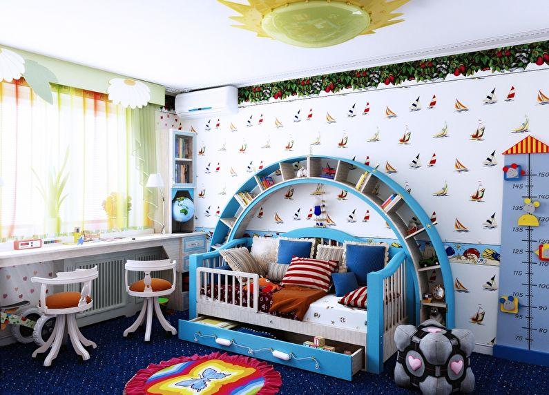 Дизайн-проект детской: готовимся к двойне