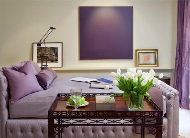 Интерьер - используем фиолетовый цвет и его оттенки