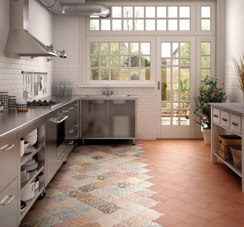 Марокканский стиль плитки для пола кухни