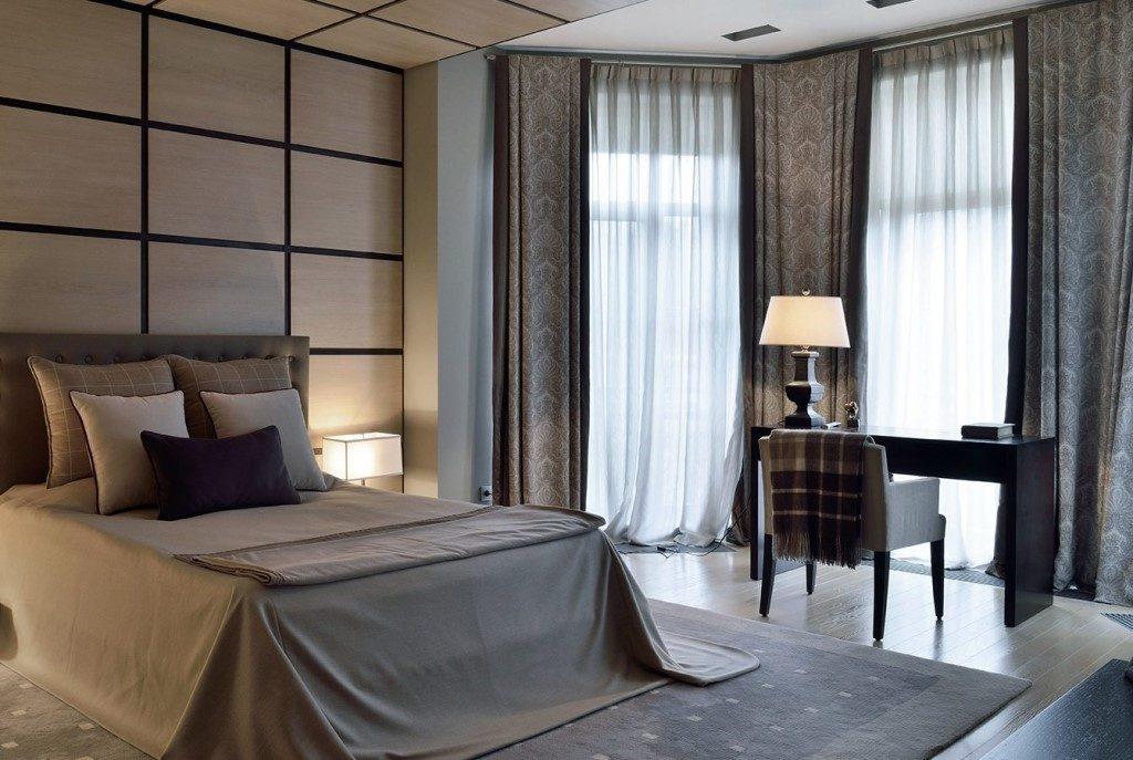 Шторы в спальне - дизайнерский подход