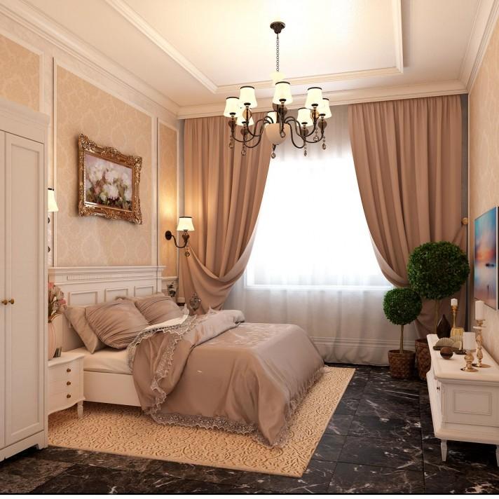 Дизайн спальни – английская классика