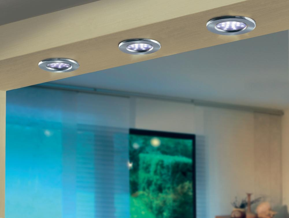 Точечные светильники с галогенными лампами