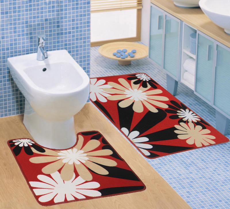 Выбираем коврик для ванной комнаты