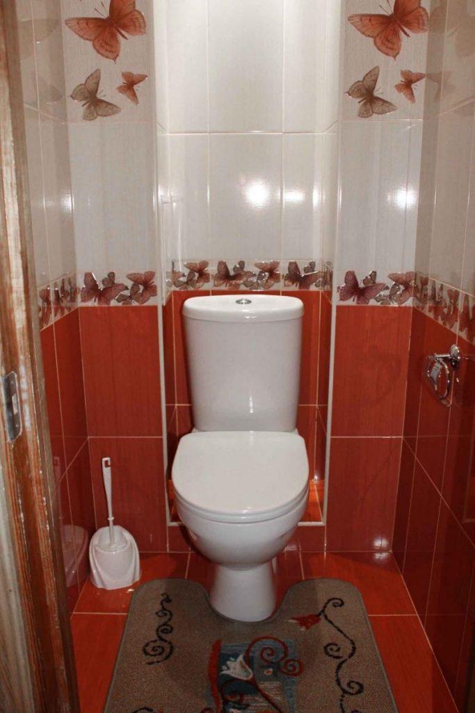 Выбрать дизайн для маленького туалета