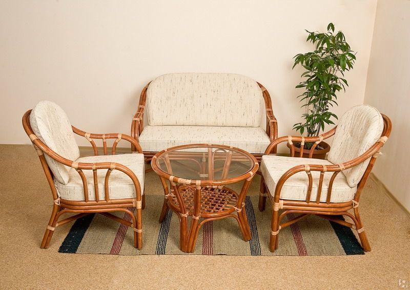 Плюсы плетеной мебели из ротанга