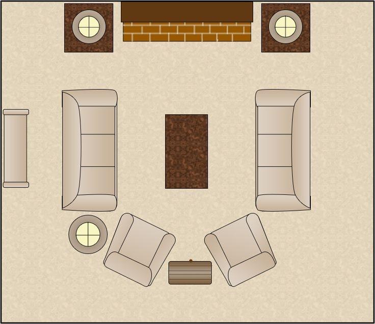 Как правильно расставить мебель в доме