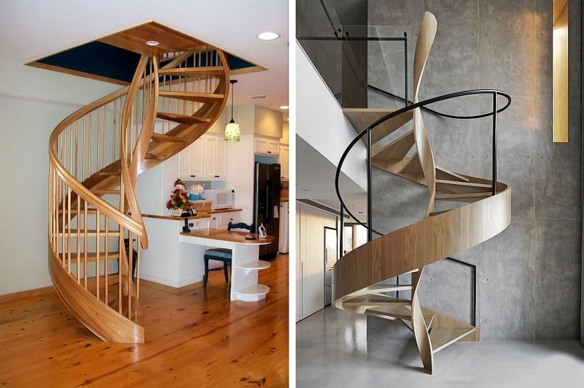 Что такое винтовая лестница?
