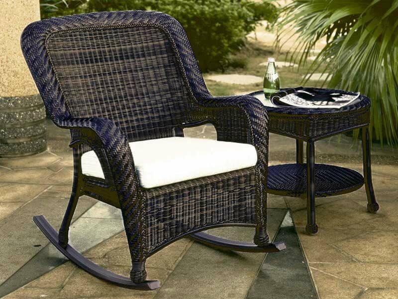 «Мечта грузчика»: плетеная мебель из ротанга