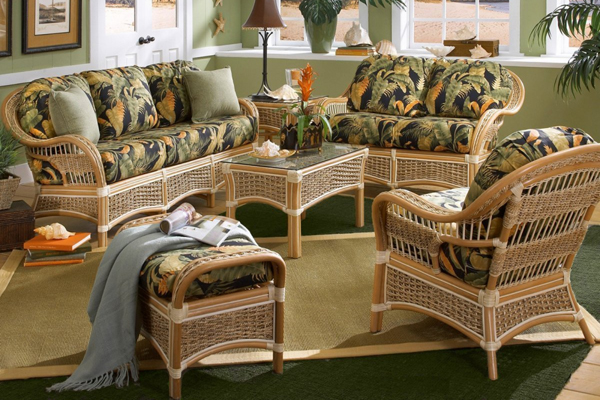 Плетеная мебель для вашего дома