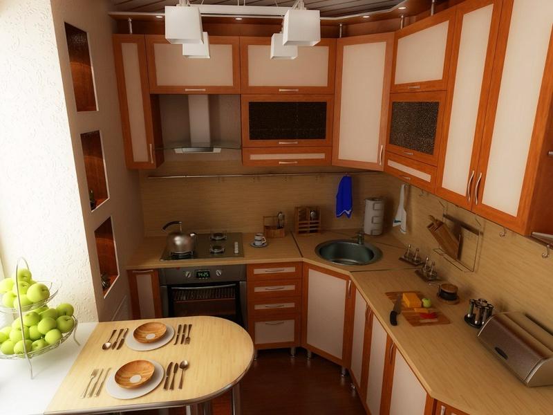 Уютная мебель на кухню