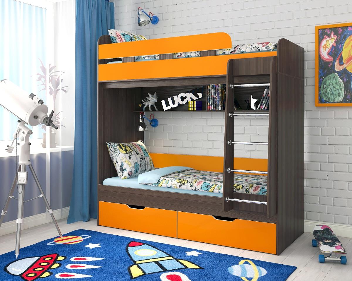 Двухъярусные кровати для детской