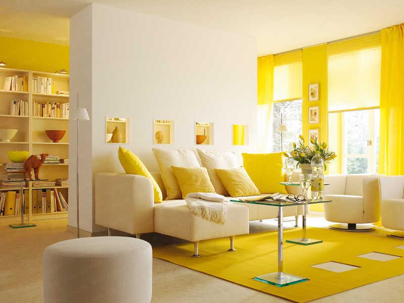 Использование цвета в дизайне квартир