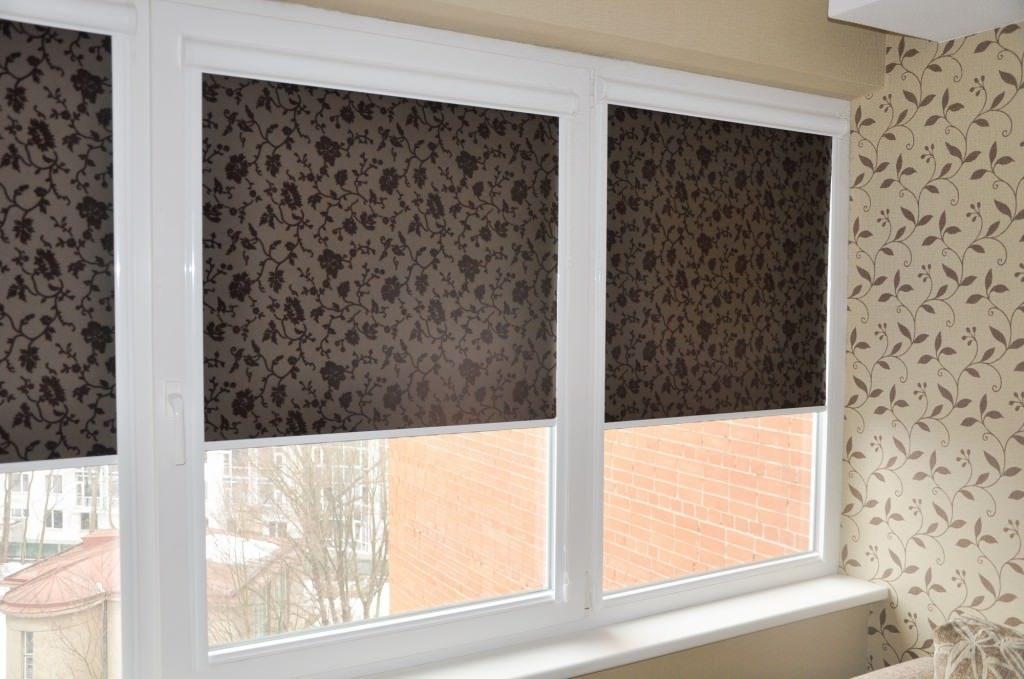 Кассетные жалюзи на окна