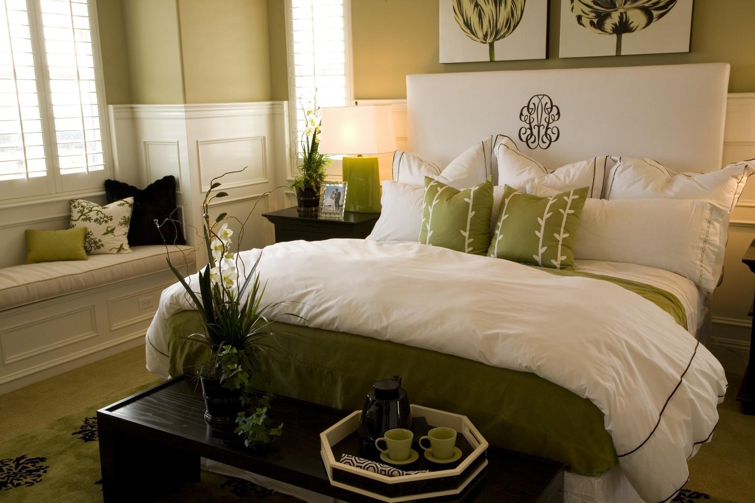 Цвет спальни по фен-шуй
