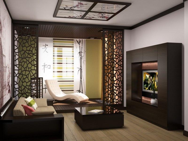 Японский дизайн интерьера квартиры