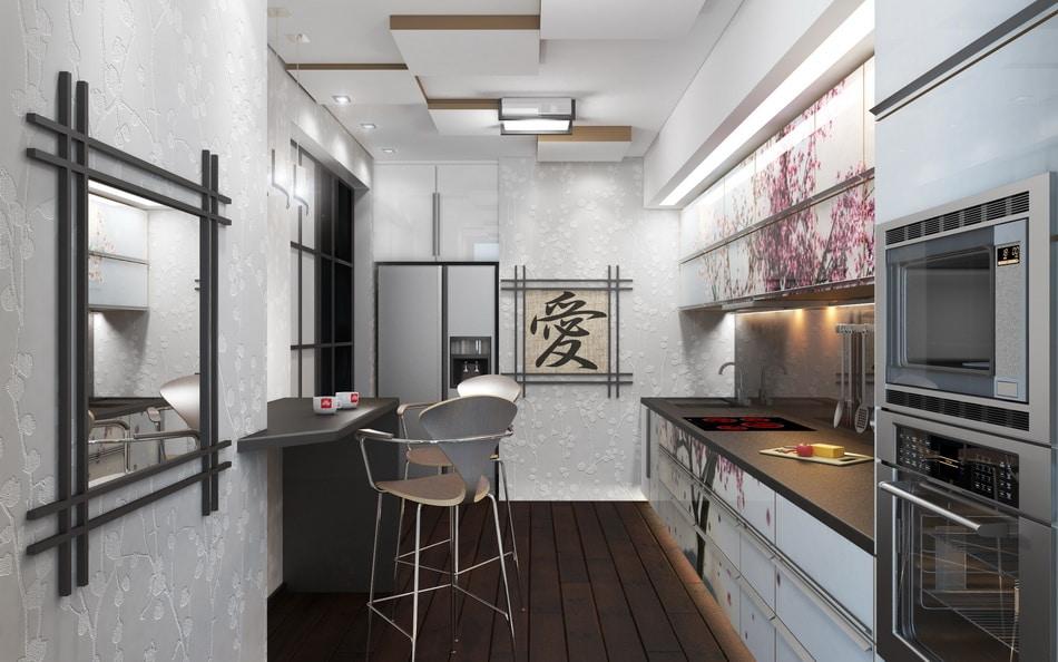 Квартирный дизайн в японском стиле