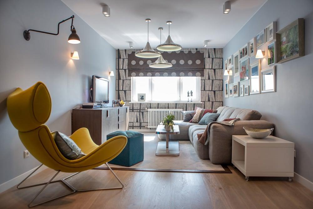 Интерьер квартиры в решении специалистов