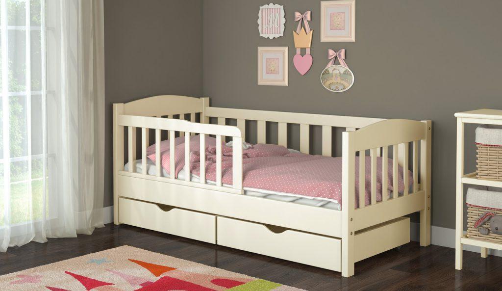 Почему нужно покупать кровать для детей с бортиками