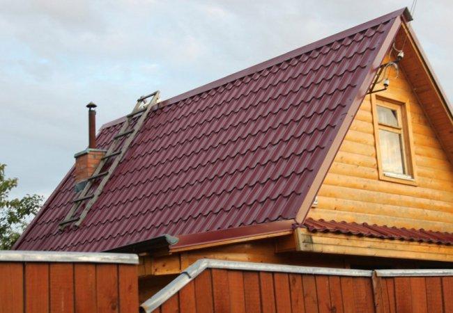 Ремонт крыши. Широкий ассортимент и большой выбор металлочерепицы